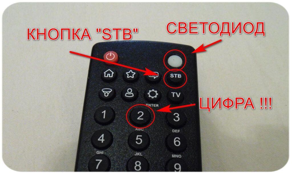 пульт от Билайн приставки (Motorola)